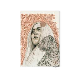 Chica leopardo